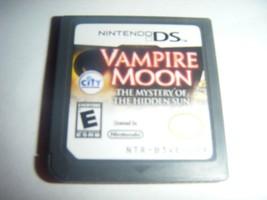 Vampire Moon: The Mystery of the Hidden Sun (Nintendo DS) Lite DSi xl 2d... - $8.50