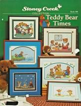 "Leaflet ""Teddy Bear Times"" Stoney Creek - Cross-Stitch -Gently Used - $7.00"