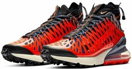 NIKE Air Max 270 ISPA BQ1918-400 Blue Void/Black Terra Orange sz 8~13 MS... - $109.97