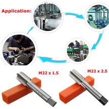 "Hardened Tempered Tungsten Steel M22 Metric Tap 2.5""/1.5""  Thread Coarse - $16.49"