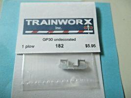 Trainworx Stock #182 Snowplow GP30 Undecorated N-Scale image 3
