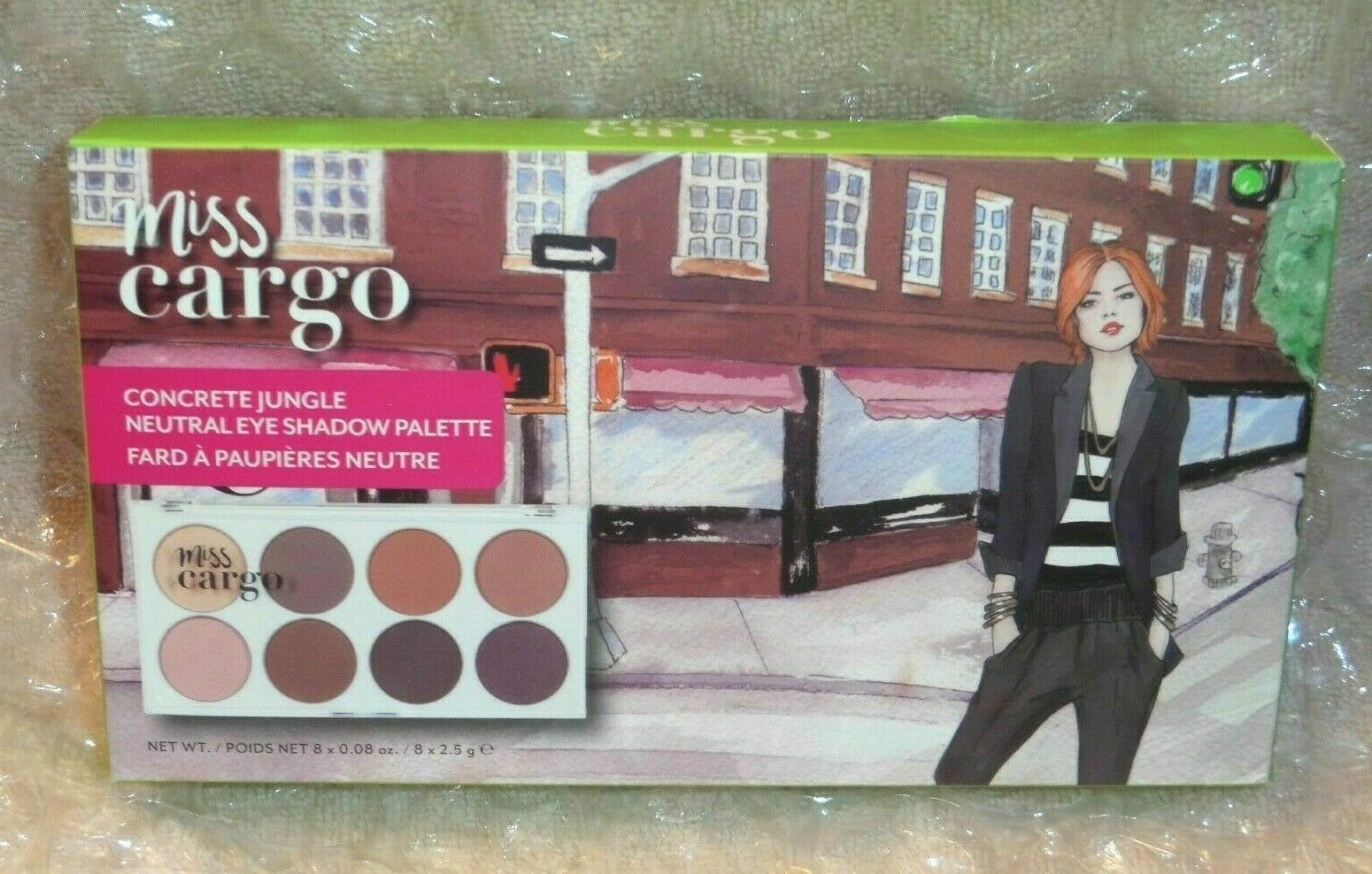 Cargo Cosmetics Miss Cargo Concrete Jungle Neutral Eyeshadow Palette  - $12.38