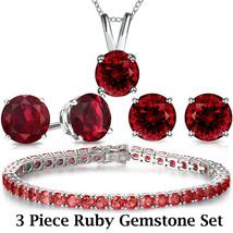 Monet Tennis BRACELET silvertone red glass rhinestones retro Renaissance... - $14.69