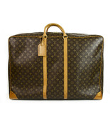 LOUIS VUITTON Sirius 70 Monogram Canvas & Leather suitcase - soft luggag... - $1,236.51