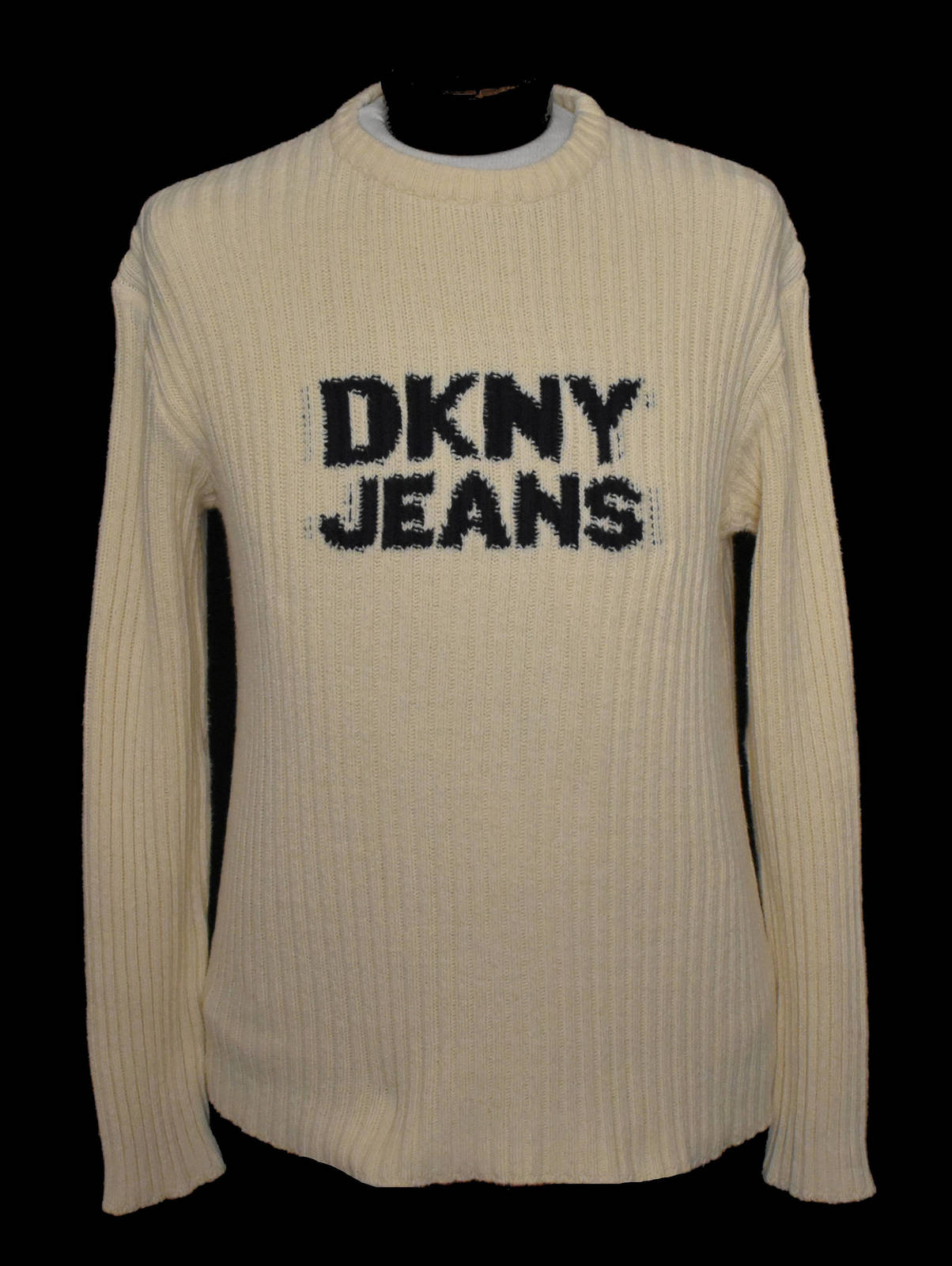 827f7163d8 Vintage 90s DKNY Jeans Spellout Sweater and similar items. Il  fullxfull.1407609226 23h3