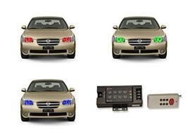 FLASHTECH LED RGB Multi Color Halo Ring Headlight Kit for Nissan Maxima ... - $243.04