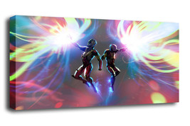 "Cartoon Art Oil Painting Print On Canvas Modern Decor""saint seiya was fi... - $16.54+"