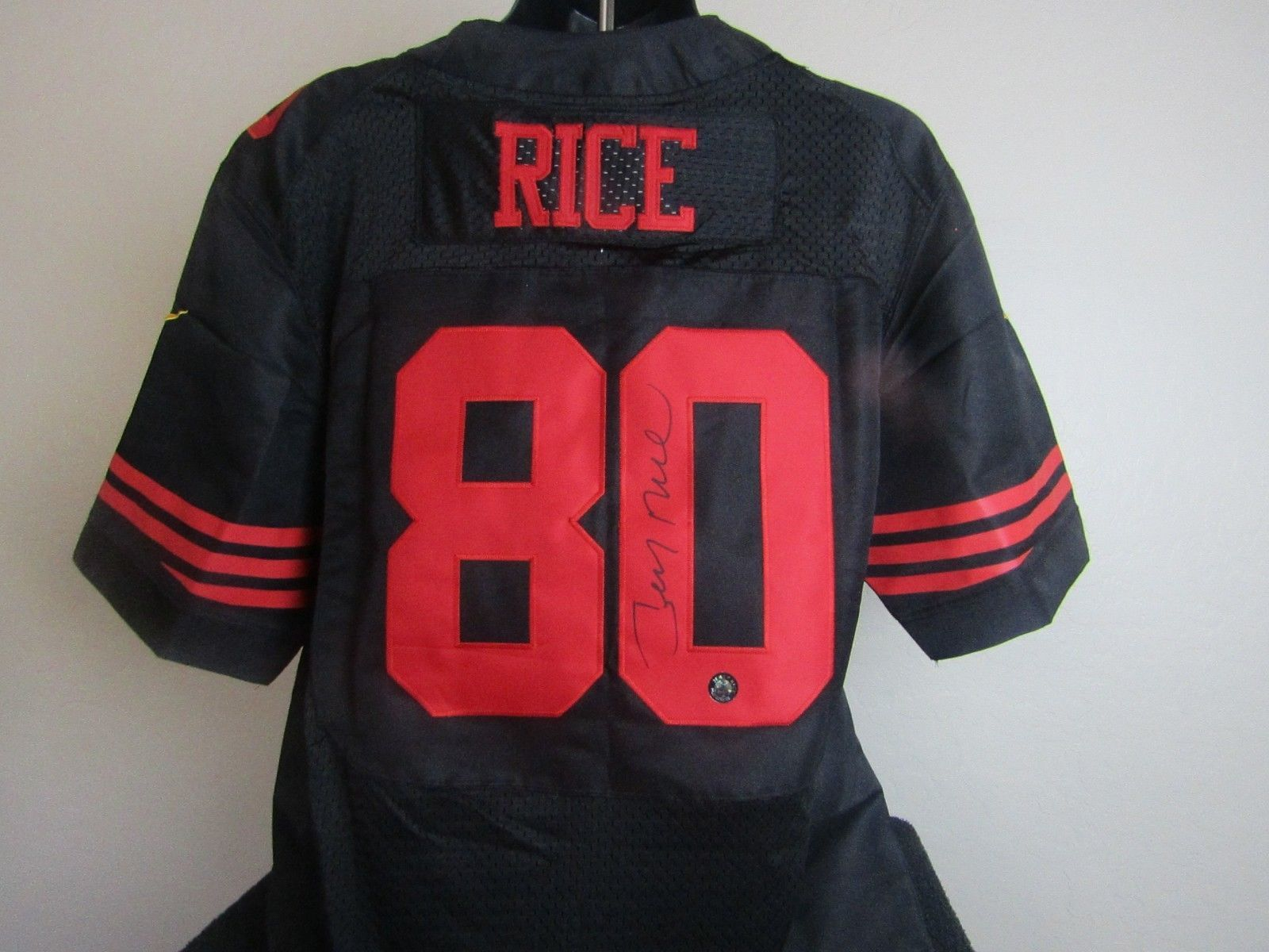 new styles b83c7 4d1ad Jerry Rice Autographed Signed San Francisco and 50 similar items