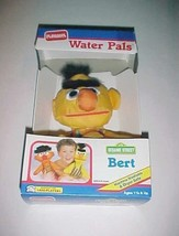 Playskool Water Pals 1990 Sesame Street Bert Yellow Floatable Bath Doll New NIB - $39.59