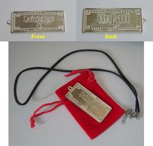 Saints Row 2 Limited Promo silver Pendant Necklace Medallion Gamescom Es... - $14.84