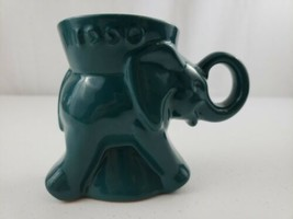 1990 Frankoma GOP TEAL Elephant Political Party Mug Excellent For A Coll... - $20.00