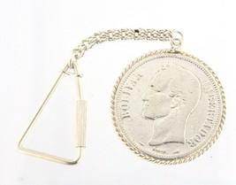 1905 venezuela 5 bolívares Unisex .925 Silver Keychain - $79.00