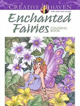 Creative Haven Enchanted Fairies Coloring Book (Creative Haven Coloring ... - $4.95