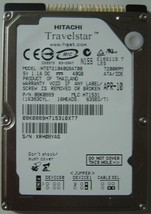 "NEW HTS721040G9AT00 Hitachi 40GB 7200RPM IDE 2.5"" drive Free USA Shipping"