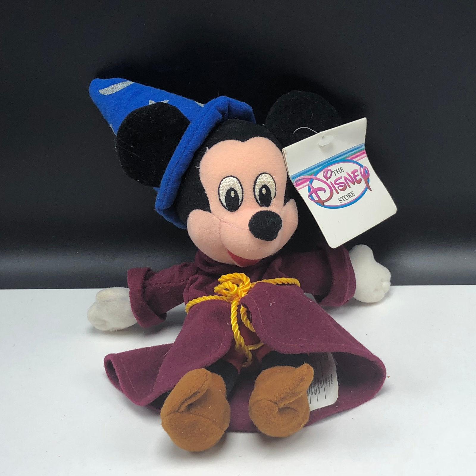 The Disney Store Sorcerer Mickey Mouse Mini Bean Bag-beanie Toys & Hobbies