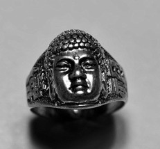 Buddah Amitabha Buddha Buddhism Sterling Silver .925 ring Jewelry Pick y... - $38.50