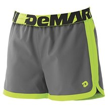 Demarini Womens Yard-Work Training Shorts Medium Goat Belly Grey/Grello ... - $711,29 MXN