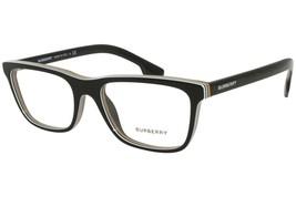 Burberry BE2292 3798 Eyeglass Frame Check Multilayer Black, Size 55 mm - $249.99