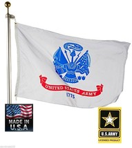 3x5 US U S ARMY OFFICIALLY LICENSED MILITARY Super-Poly FLAG Banner USA ... - $15.74