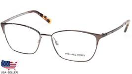New Michael Kors MK3001 Verbier 1025 Gunmetal Eyeglasses Frame 52-14-135 B36mm - $49.49
