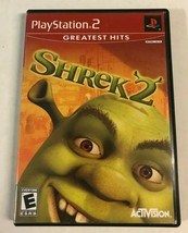 "Shrek 2 (Sony PlayStation 2, 2004) PS2 Game Complete ""Greatest Hits"" - $9.99"