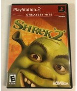 """Shrek 2 (Sony PlayStation 2, 2004) PS2 Game Complete """"Greatest Hits"""" - $9.99"""