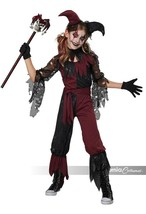 California Costumes Psycho Jester Scary Childrens Halloween Costume 3020-027 - $30.29