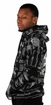 40 Oz New York NY 40 Bones Black Pullover Hoodie Hooded Sweater NWT image 2
