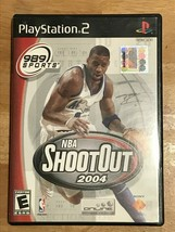 NBA Shootout 2004 - PS2 Playstation 2 - Manual included - $5.83