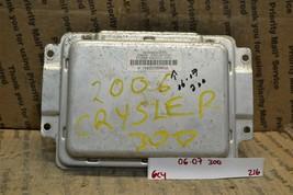 06-07 Chrysler 300 Body Control Module BCM Unit P04692028AL 216-6c4 - $12.99