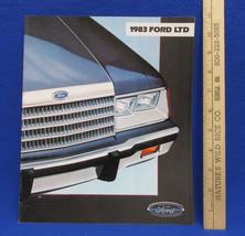 Vintage 1980 Ford LTD Car Dealership Brochure Information Booklet Sales - $7.91
