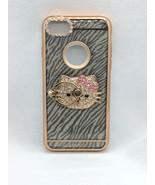For IPhone 7 Apro Chrome Ring Zebra Case - $11.29