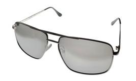 Kenneth Cole Reaction  Mens Sunglass Silver Aviator, Flash Lens KC1369 10C - $17.99
