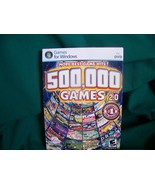 500,000 Games Version 2.0 Games for Windows PC DVD - $5.00