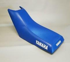 Yamaha Champ 100 Seat Cover YFM100 In Royal Blue (Side LOGO/ST/4pc) - $49.95