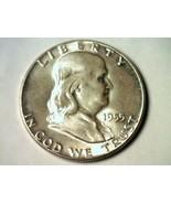 1955 FRANKLIN HALF DOLLAR GEM UNCIRCULATED NICE ORIGINAL COIN FROM BOBS ... - $48.00