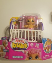 Little Live Pets Bizzy Bubs Cute Crib Bouncing Baby Gracie - $21.99