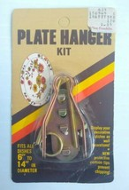 """Vintage Homecraft Travco Plate Hanger Kit Fits All Dishes 6"""" to 14"""" - $12.84"""