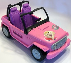 2012 Barbie and Ken Beach Cruiser Y6856 Vehicle Only No Seatbelts - $39.19