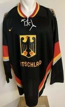 Rare Prototype Nike Deutschland Black Hockey Jersey With Prototype Tag L... - $110.67
