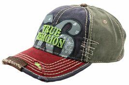 True Religion Men's Premium Cotton Vintage Distressed Trucker Hat Cap TR1690 image 9