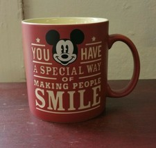 Mickey Mouse Walt Disney You have a Special Way of Making People Smile Mug 18 oz - $29.69