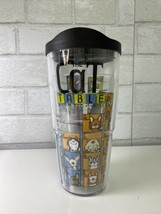 TERVIS CAT Table DRINKWARE 24OZ TUMBLER Cup Travel HOT & COLD NWT  - $24.95