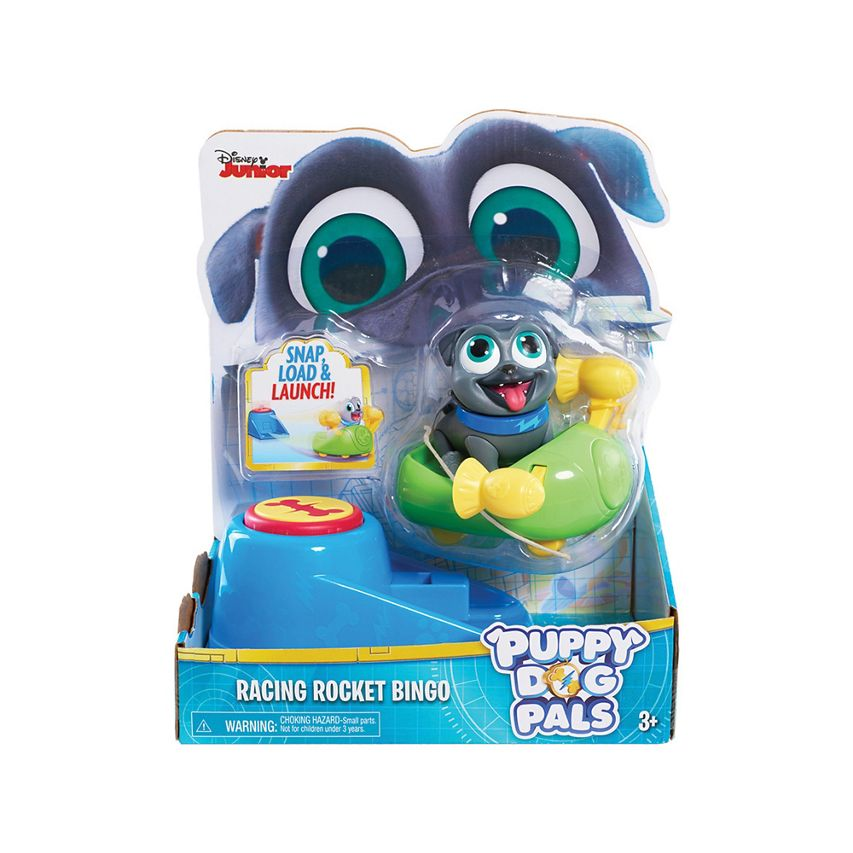 Disney Junior | Puppy Dog Pals | Racing Rocket Bingo