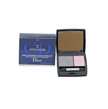 DIOR 2 COULEURS MATTE AND SHINY DUO EYESHADOW 4.5G #055 COCKTAIL LOOK NIB - $37.13