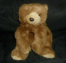 VINTAGE MENAGERIE FIRST & MAIN STUFFED ANIMAL PLUSH TOY FLOPPY BROWN TED... - $23.38
