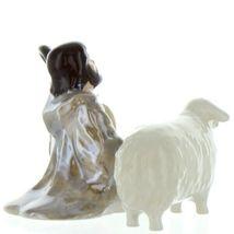 Hagen Renaker Specialty Nativity Shepherd Lamb & Sheep Ceramic Figurine Set image 10