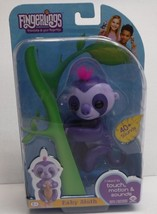 Fingerlings Purple Baby Sloth Marge NEW - $24.70