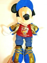 Disneyland Resort Mickey Mouse Plush Toy Disneyland 50th Anniversary Dol... - $29.65