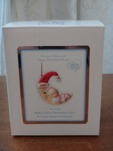NEW Precious Moments Ornament Baby's First 1st Christmas Girl Ornament 1... - $17.99